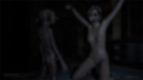 Nude & Ball Gag Version