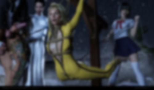 Yellow Suit - Bukkake Version